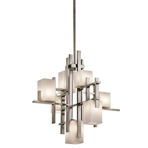Kichler City Lights 7 Light Chandelier - London Lighting - 1
