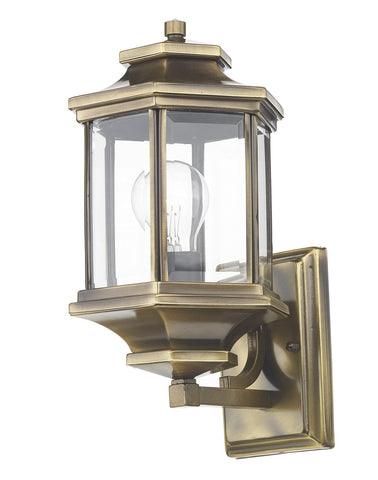 Ladbroke Antique Brass Lantern - London Lighting - 1