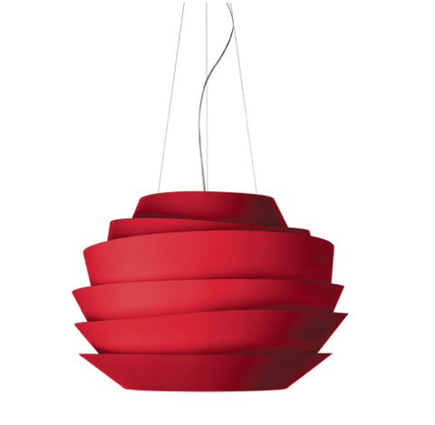 FOSCARINI LE SOLEIL SUSPENSION RED - London Lighting - 1