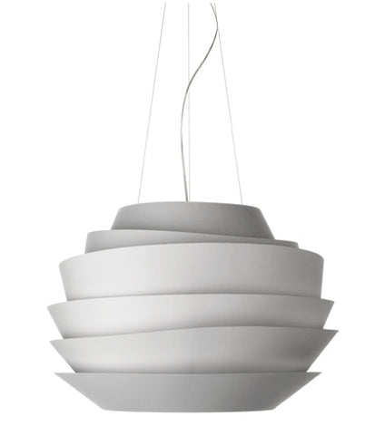 FOSCARINI LE SOLEIL SUSPENSION WHITE - London Lighting - 1