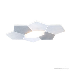 Grossmann Linde Small Wall / Ceiling Light In Aluminium - ID 7781