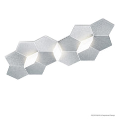 Grossmann Linde Medium Wall / Ceiling Light In Aluminium - ID 6664