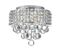 Matrix Chrome 3 Lamp Ceiling Light - London Lighting - 1
