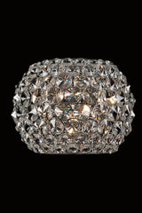 Star Clear Crystal Wall Lamp - London Lighting