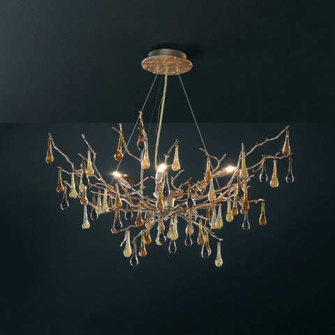 Serip Bijout 6 Lamp Bespoke Chandelier - London Lighting - 1