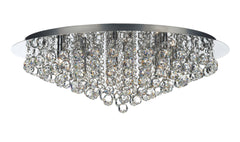 Pluto Chrome 8 Lamp Ceiling Light - London Lighting - 1