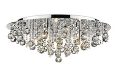 Pluto Chrome 5 Lamp Ceiling Light - London Lighting - 1