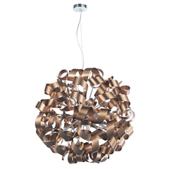 Becontree Brushed Copper 12 Light Pendant - ID 5221