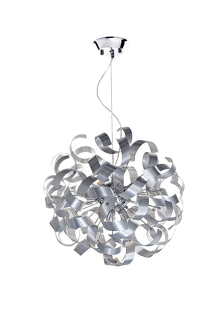 Rawley 9 Lights Ribbon Pendant Light - London Lighting - 1