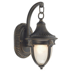 Richmond Black Gold Small Wall Bracket - London Lighting - 1