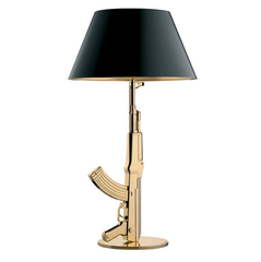 FLOS Table Gun Gold/Black - London Lighting - 1