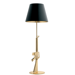 FLOS Lounge Gun Gold/Black - London Lighting - 1