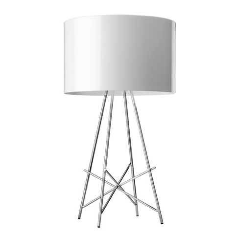 FLOS Ray T Table Lamp - White Metal - London Lighting - 1