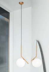 FLOS IC Lights 200 S1 Ceiling Suspension - London Lighting - 1
