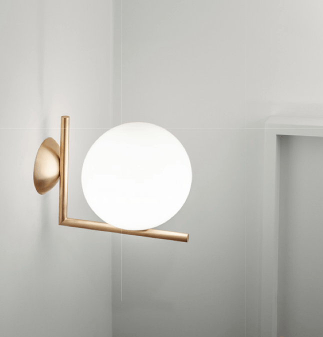 Flos ic lights 300 c w2 wall or ceiling light london for Flos bathroom light