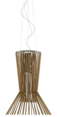 Foscarini Allegretto Vivace Suspension Brown - London Lighting - 1