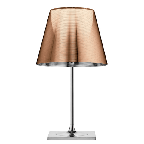 FLOS KTRIBE T2 Aluminised Bronze Table Lamp with Dimmer - London Lighting - 1