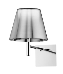 FLOS KTribe W Aluminized Silver Wall Light - London Lighting - 1