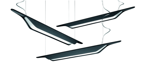 FOSCARINI Troag Ceiling Light - Size & Colour Options - London Lighting - 1