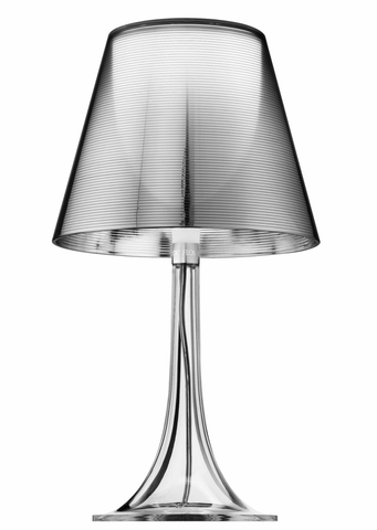 FLOS Miss K Silver Table Lamp - London Lighting - 1