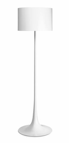 FLOS Spun Light F White - London Lighting - 1
