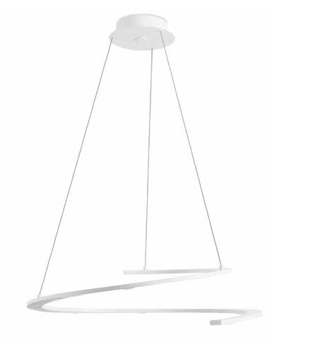 Curl Suspended LED Ceiling Light - London Lighting - 1