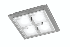 Grossmann Domino 76-272-063 Ceiling Light In Matt Nickel - ID 2321