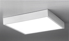 Small Flush Square Ceiling Light - ID 7425