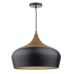 Sutton Black Large Single Pendant - ID 5944