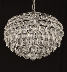 Southborough Medium Layered Crystal Pendant - ID 5022