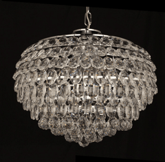 Southborough Large Layered Crystal Pendant - ID 5025