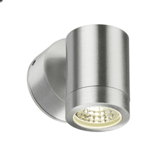 Mini Aluminium Outdoor Fixed Downward LED Wall Light - ID 6490