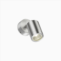 Mini Aluminium Outdoor Adjustable Downward LED Wall Light - ID 6473