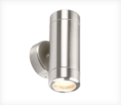 Heavy Gauge Stainless Steel Up/Down Outdoor Wall Light- ID 6525