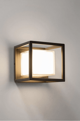 Opal Square Exterior Wall Light - ID 6696