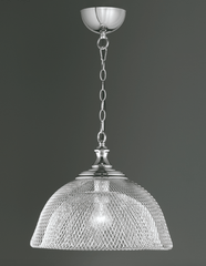 Brace Interlacing Metal Single Pendant - ID 6063