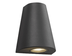 Emerson Park Gun Metal Grey Outdoor LED Wall Light  - ID 7021