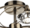 Earlsfield Antique Brass 6 Lamp Ceiling Light - ID 4082