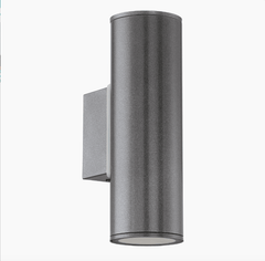 Brunswick Anthracite Outdoor Up/ Down Wall Light - ID 5434