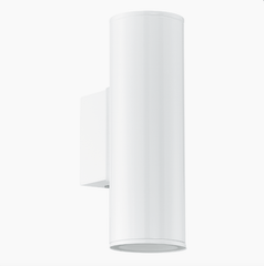 Brunswick Modern Outdoor Up & Down Lighter In White - ID 7969