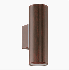 Brunswick Modern Outdoor Up & Down Lighter In Antique Brown - ID 7970