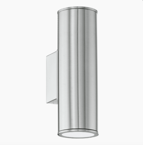 Brunswick Modern Outdoor Up & Down Lighter In Stainless Steel - ID 7971