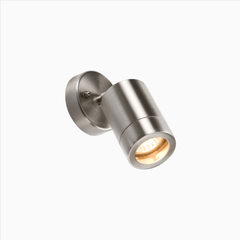 Stainless Steel Adjustable Head Outdoor Wall Light - ID 1686