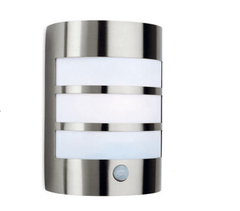 Downe Outdoor Stainless Steel Wall Light With PIR - ID 8326