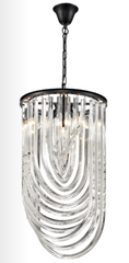 Brent Intertwining Clear Crystals Chandelier - ID 8469