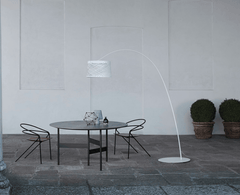 Foscarini Twiggy Grid Outdoor Arc Floor Lamp