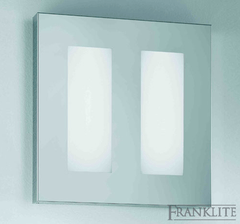 Low Profile Chrome Italian Wall Light - ID 4961