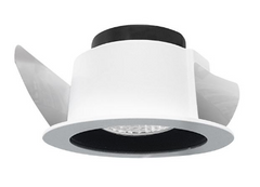 NL white IP44 GU10 recessed downlight ID 9287