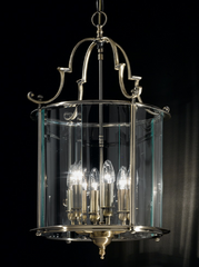 Glendaruel 6 Lamp Antique Brass Lantern - ID 2727
