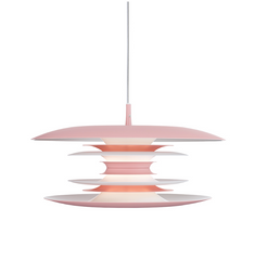 Blod 50cm Skandi Pendant in Light Pink - ID 9347